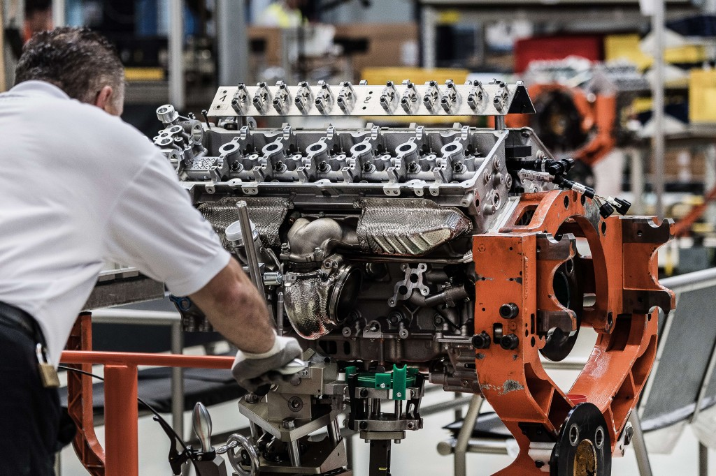 Aston Martin Koln Engine Plant Photo  (6)