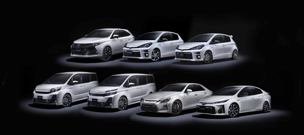 """Toyota gamme """"GR"""""""