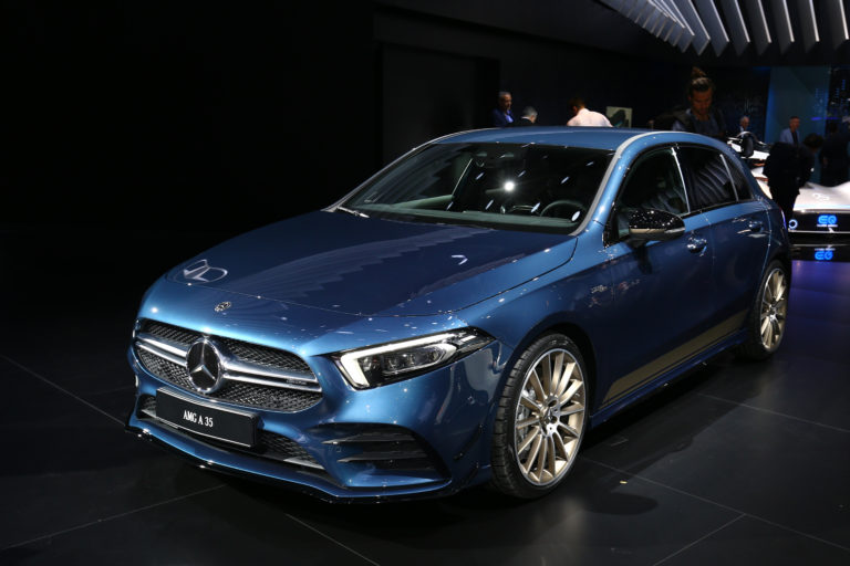 Salon de Paris 2018 Mercedes AMG A 35
