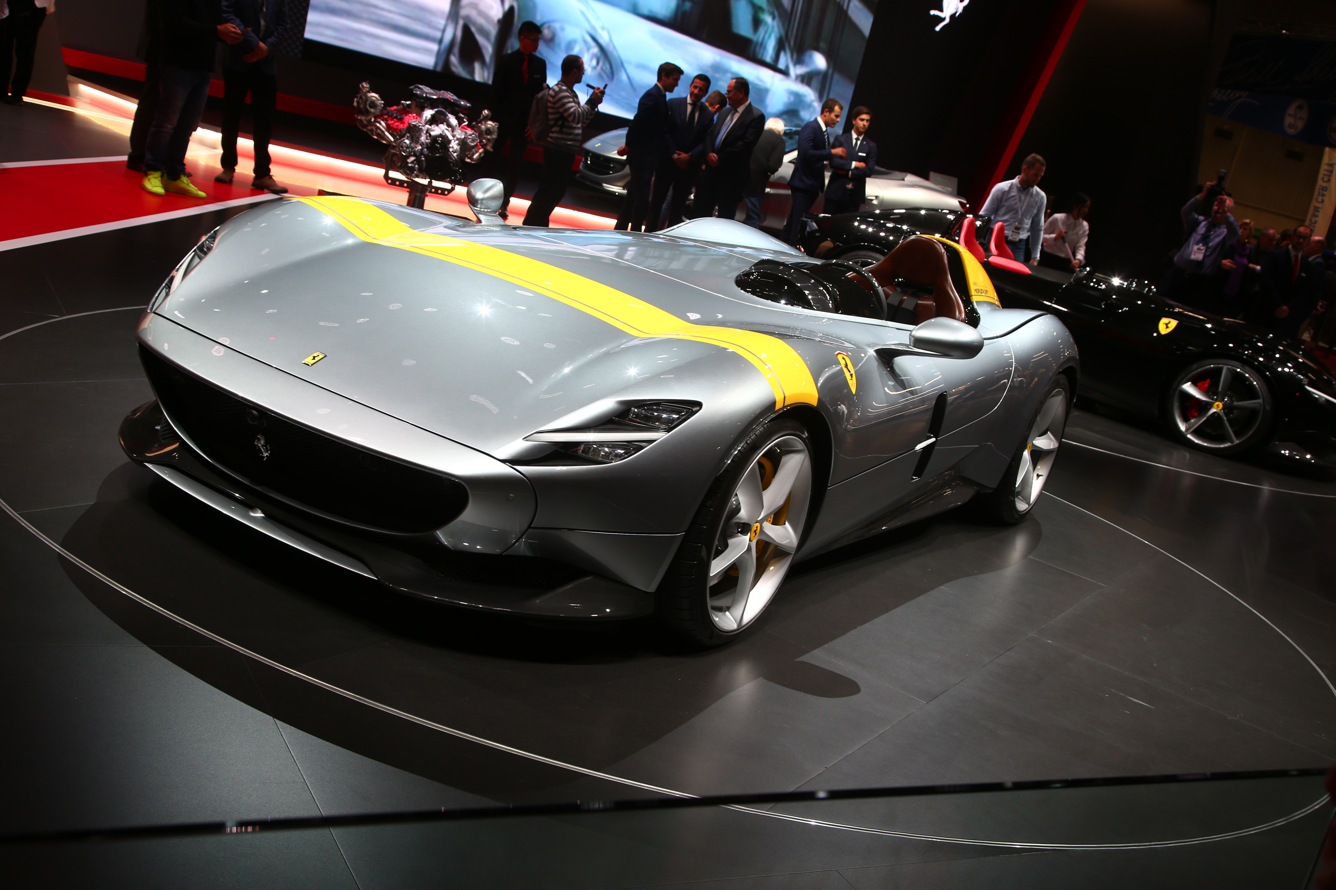 Salon de Paris 2018 Ferrari Monza SP1