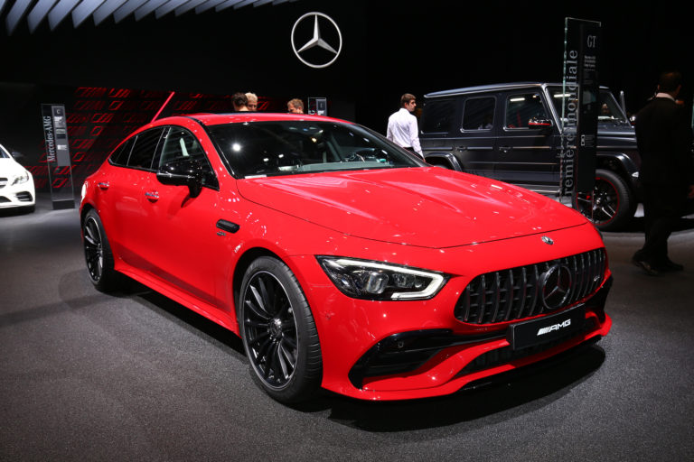 Salon de Paris 2018 Mercedes AMG GT Coupe 43