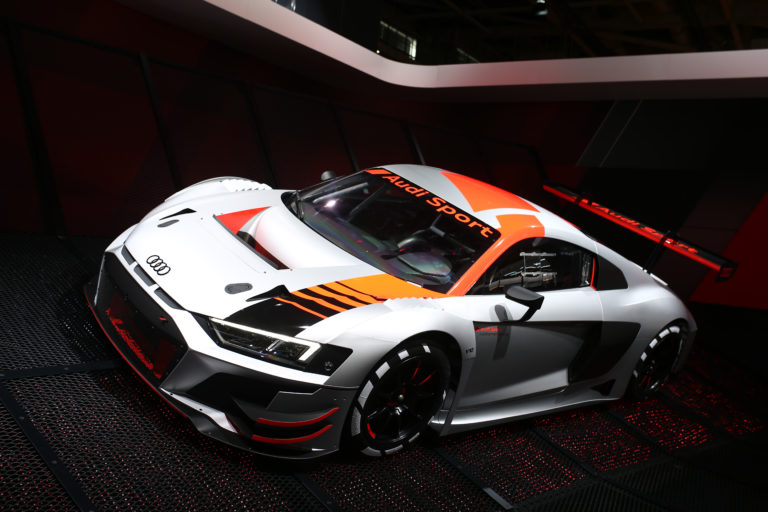 Salon de Paris 2018 Audi R8 LMS GT3