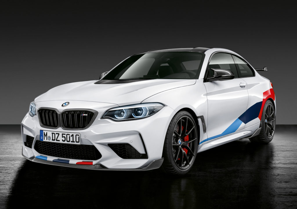 BMW M2 Comp - M Performance parts (2018)
