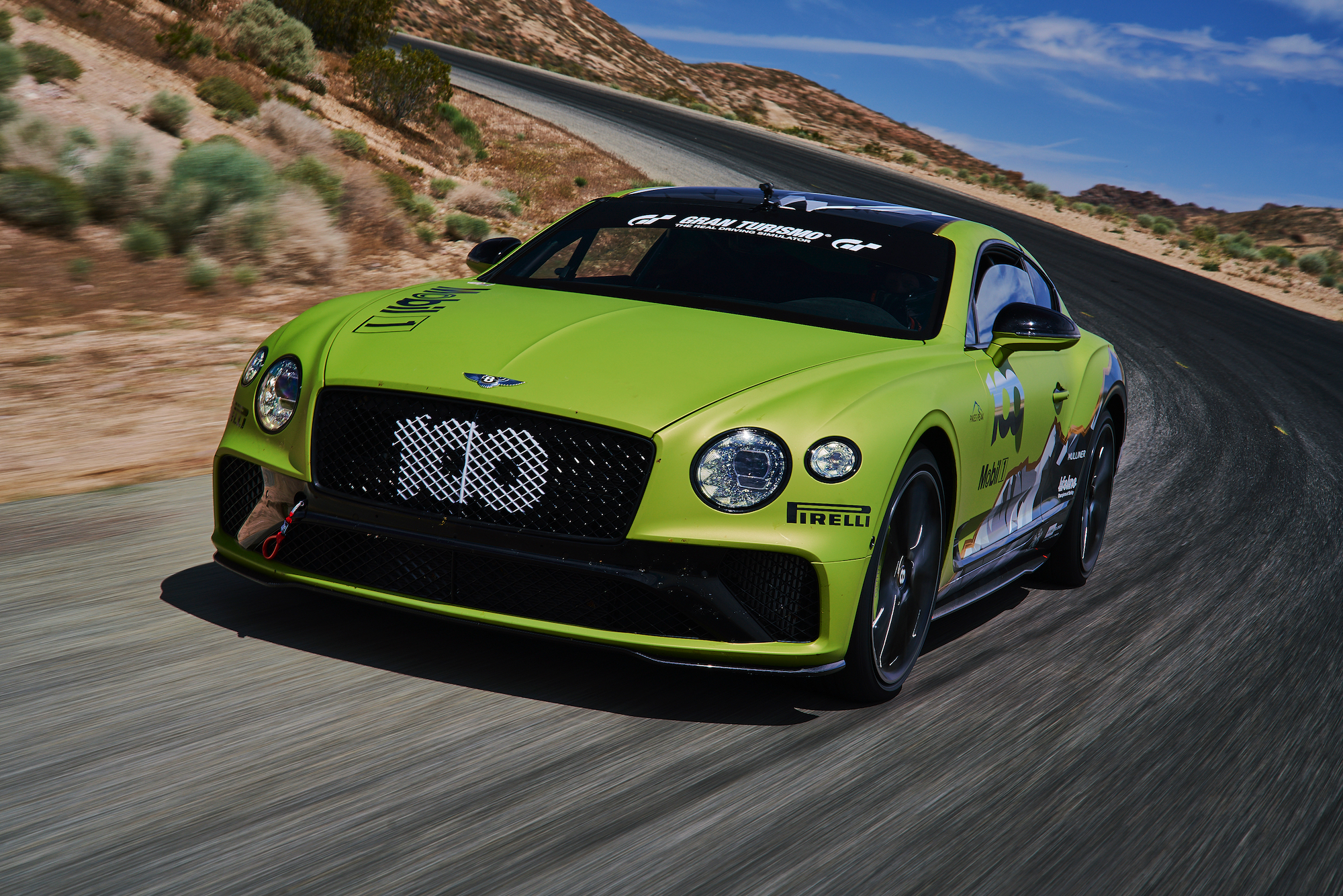 Bentley Continental Pikes Peak