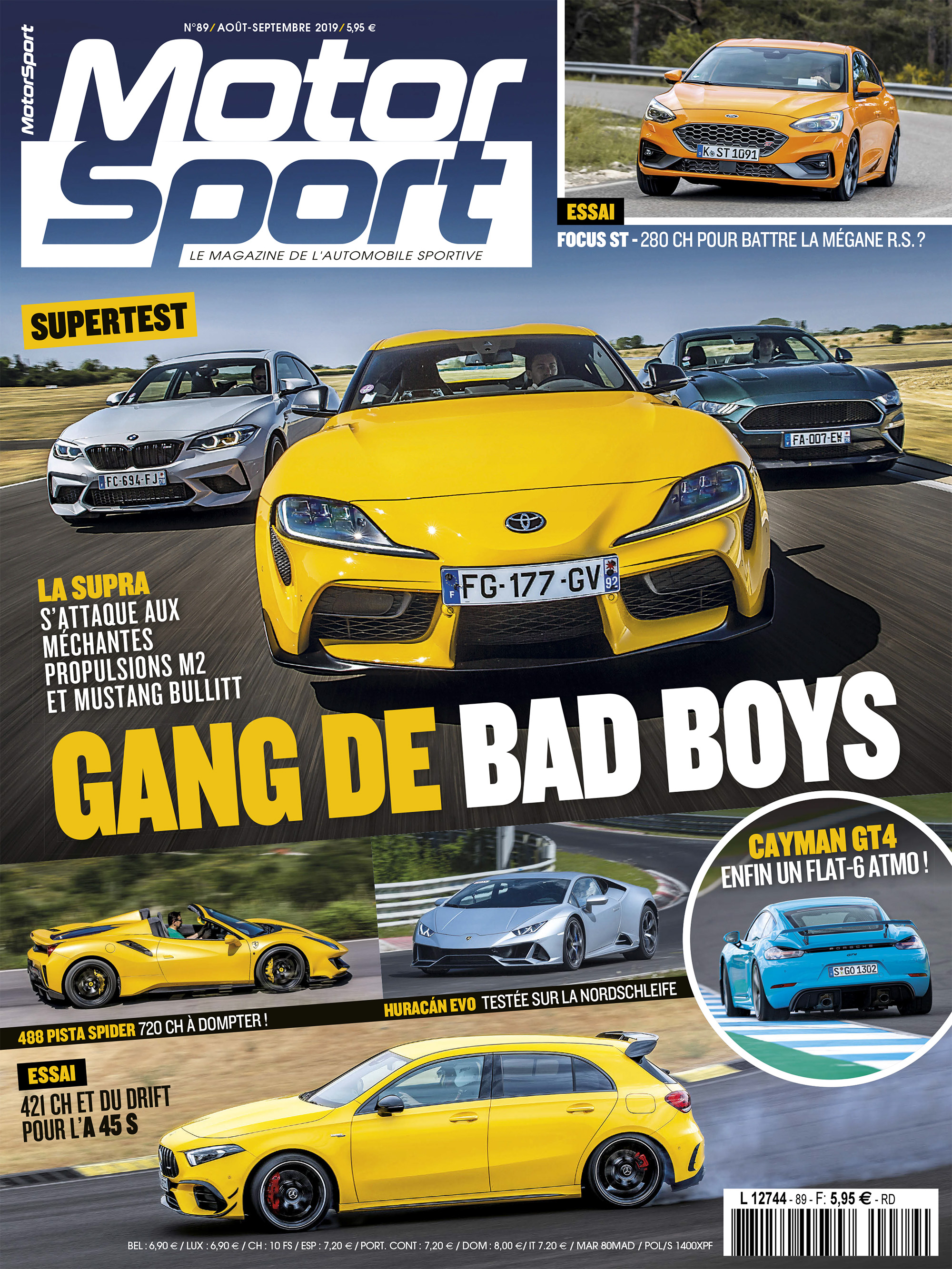 Couverture Motorsport 89